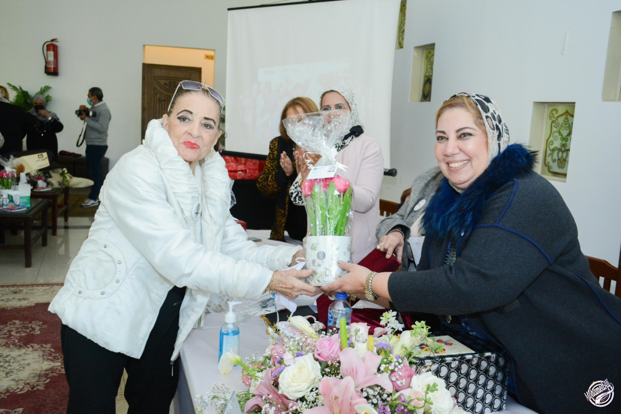 12-A Sheild of appreciation to Mrs. Laila El Hakee from District 95 Chairman
