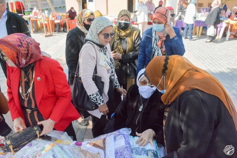 14-The Bazaar organized by IWC of Al Mansoura