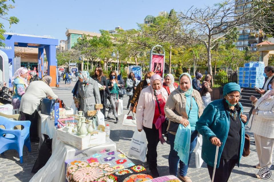 15-Bazaar Organized by IWC of El Mansoura