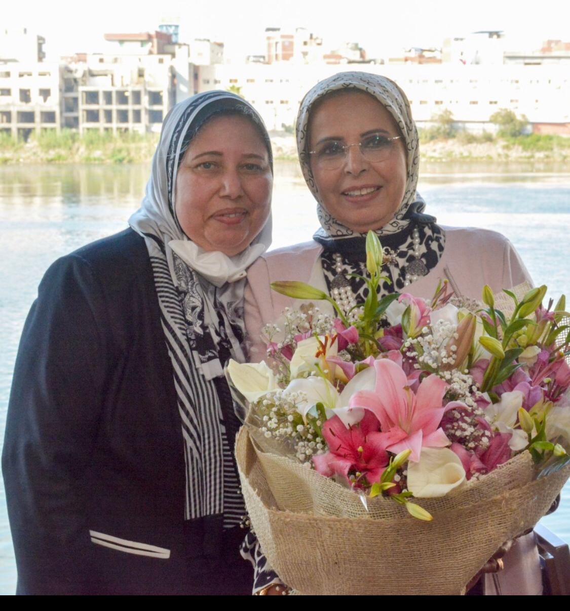 19-District Editor & council Mrs. Iman El Tarshoubi The Deputy Rapporteur of National council for women in Dakahlia