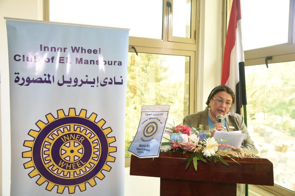 3-Mrs. Nagwa kandil President of IWC of Al Mansoura
