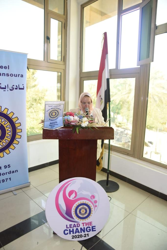 4-Mrs. Ghada Ramy President of IWC of Tanta