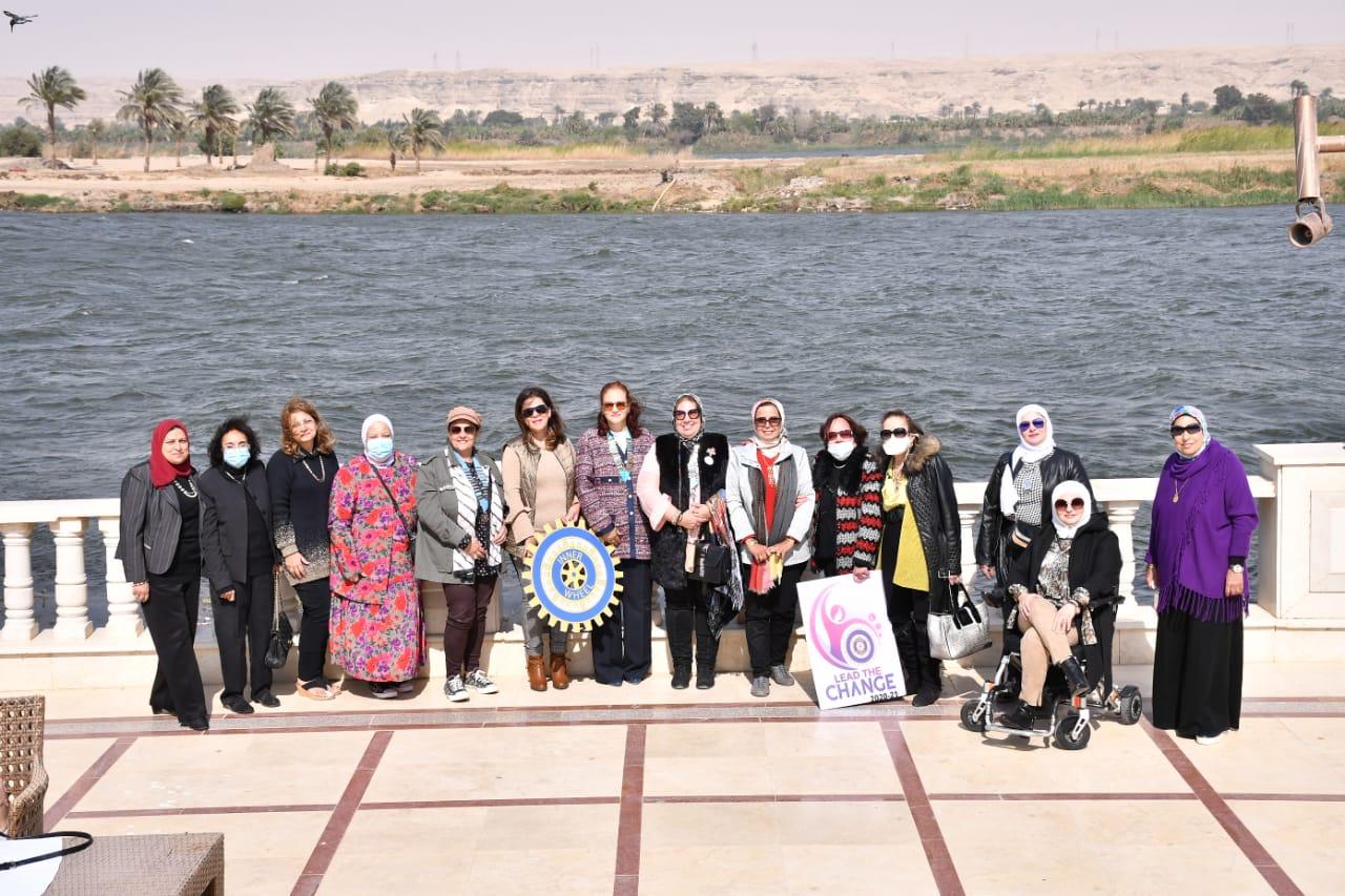 1- D95 chairman & Members of different IWCs & IWC Al Minya