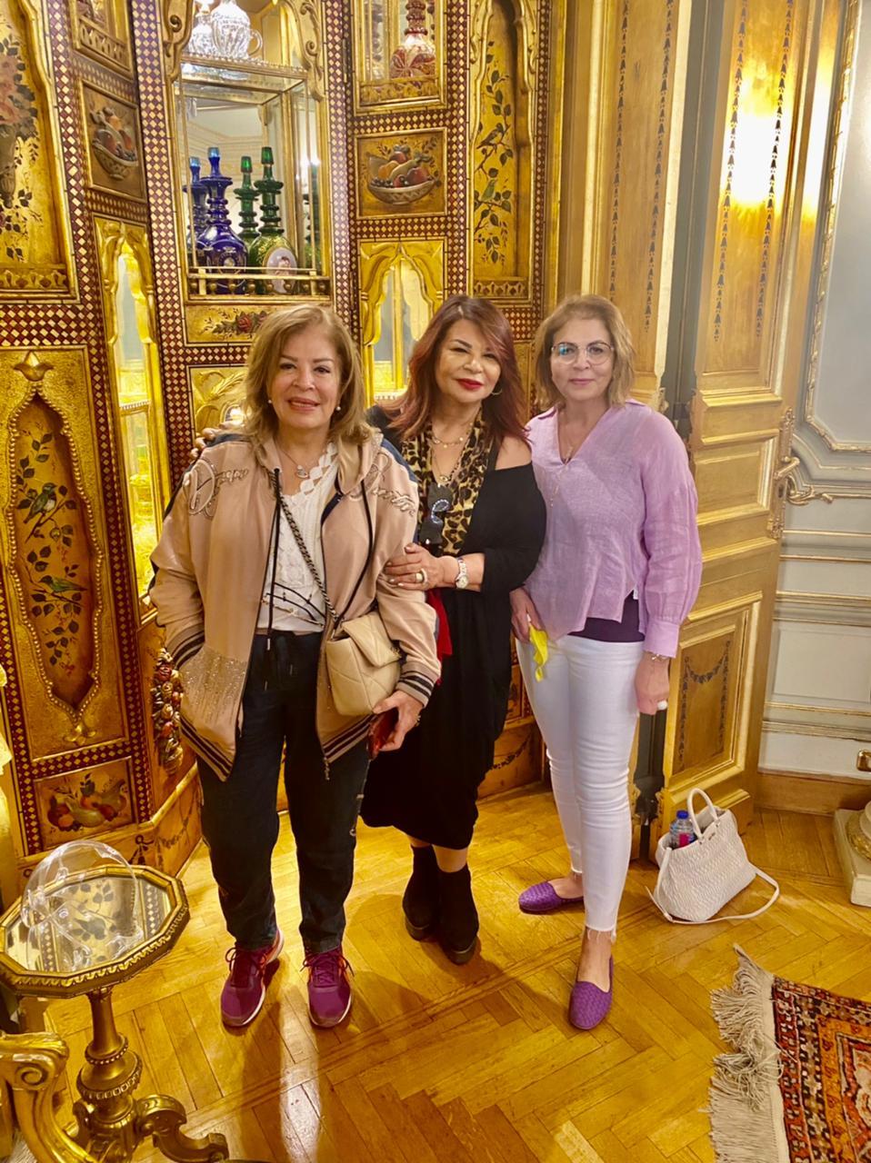 5- IWC of zamalek members inside the luxurious Qubbah Palace