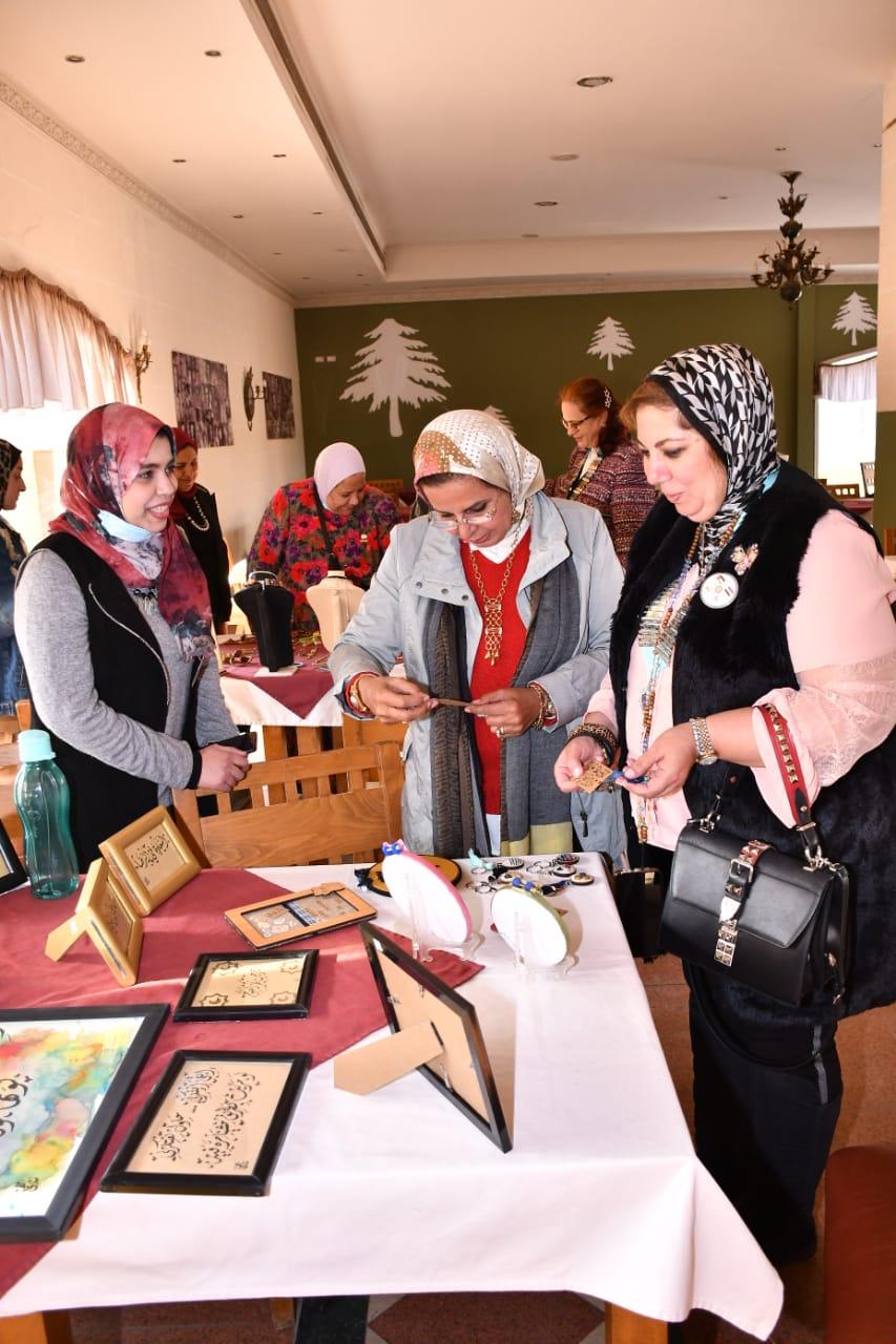 7- D95 Egypt & Jordan at Al Minya Charity Bazaar