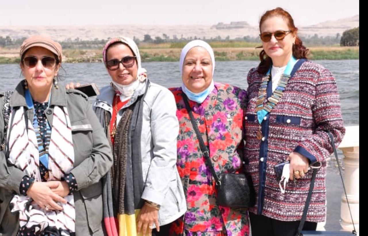 8- Districr Editor, Presidents of IWC of El Minya & El Mansoura