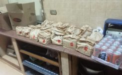 IWC of Giza sent 150 breakfast meals to two charitable societies.