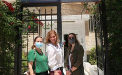 IWC of Amman Petra visiting Dar El Ihsan for the care & Rehabilitation of the orphans.