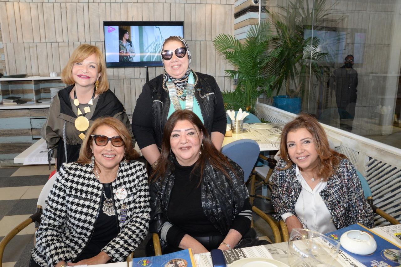 18-D95 Egypt &Jordan & members of IWC of Alexandria East