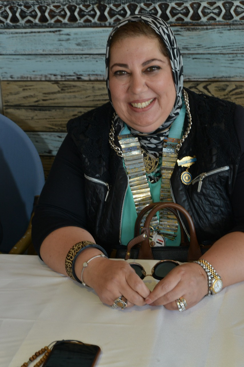 19-Mrs. Mona Aref D95, Egypt & Jordan, Chairman
