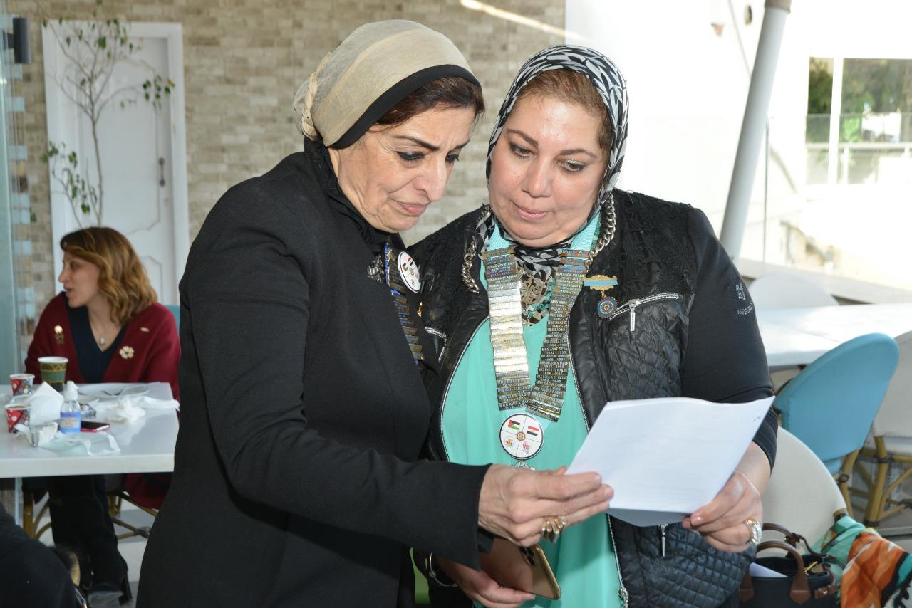 24-Mrs.Mona Aref District Chairman & President of IWC of Alexandria