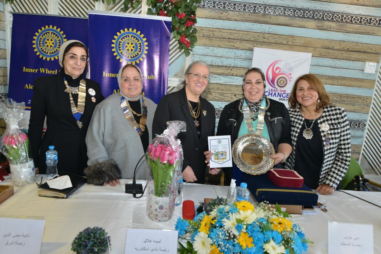 3-The three presidents of IWC s of Alexandria,Alexandria East & Damanhur