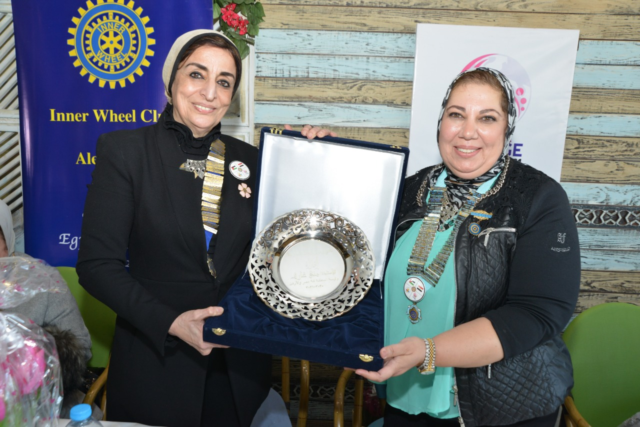 7-A symbolic gift from IWC of Alexandria to D95 Chairman