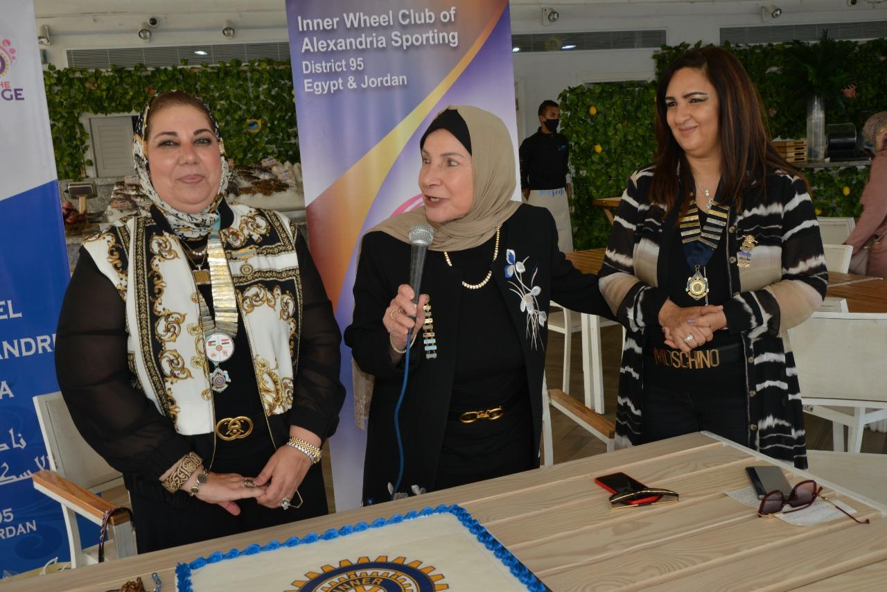 7-Mrs. Enaya Shararah Extention Chairman Presenting her speech