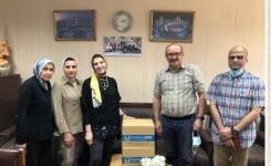 IWC of Alexandria El Nozha offering 2 Electrocardiographs to the Trauma Unit at Alexandria University Hospital