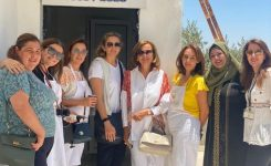 IWC of Petra visited Jerash for the Opening of Productive Kitchen