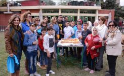 IWC of Garden City donating to Dar Companion of the Prophet (Rofaa El Nabi) For Orphanage