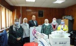 IWC of Tanta Donating Medical Supplies to Al Minshawi General Hospital in Tanta