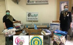 IWC of Alexandria Donating Sewing Machines to Abcher Association  for Special Needs