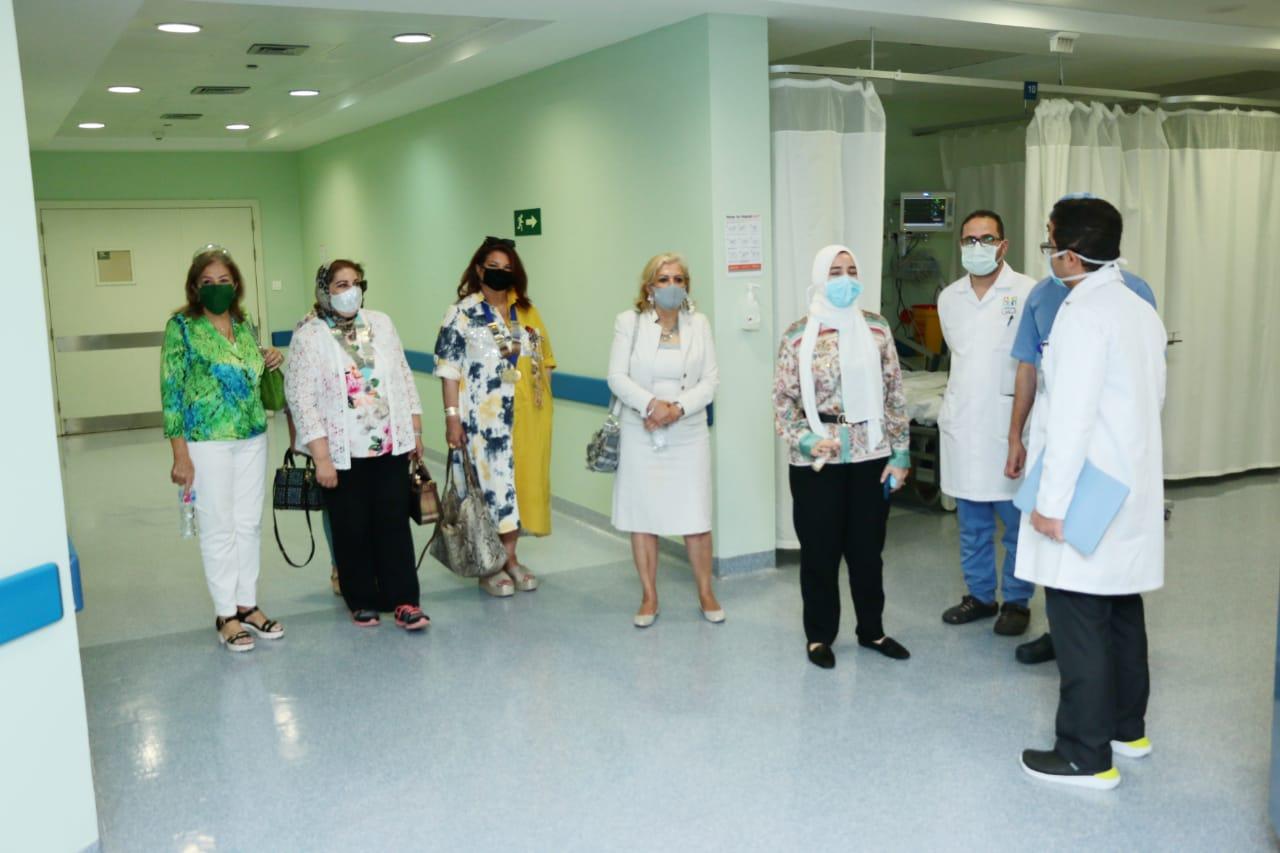 14- The visitors at the ward