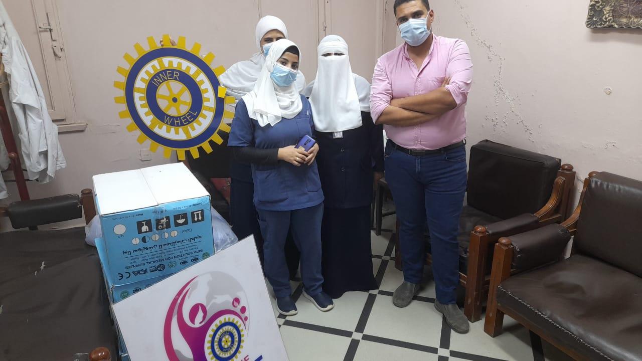 2-Medical Supplies to Al Minshawi General Hospital in Tanta.