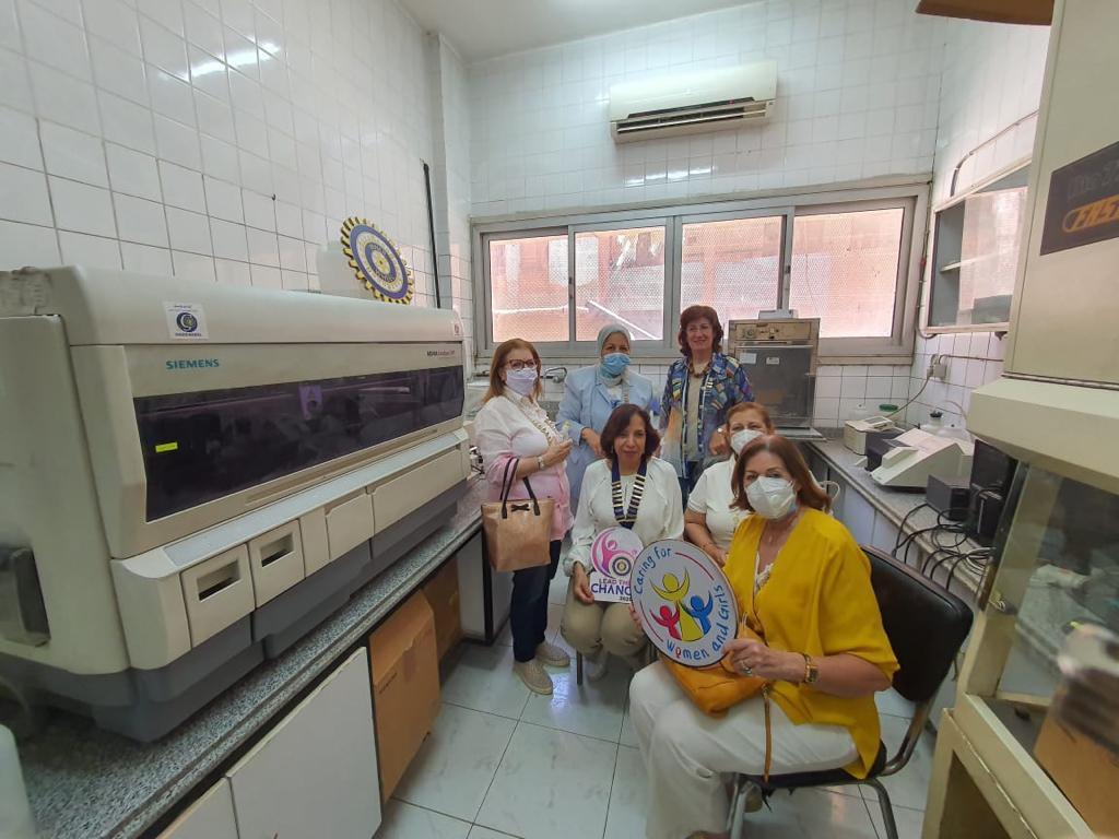 5- IWC Of Gezira Sporting Club& Chemiluminesense Device