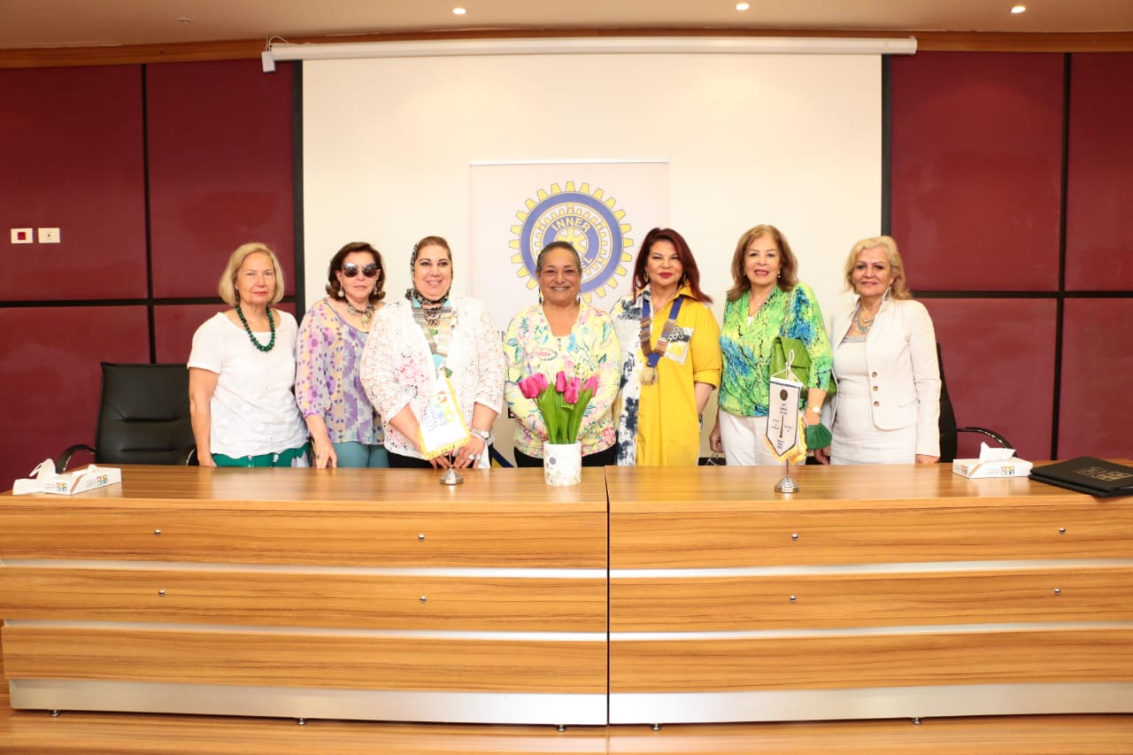8-IWC of Zamalek & Mrs. Anisa Hassouna