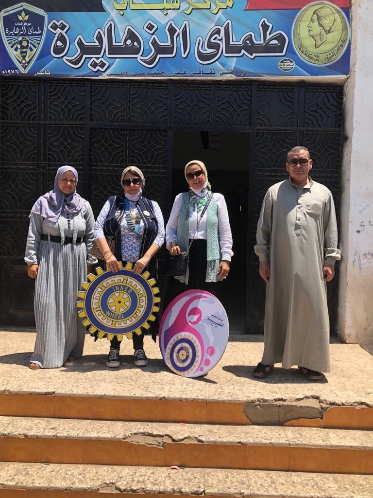 1- IWC of Al Mansoura at the Youth center of Tamai El Zahayra