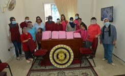 Alexandria visiting the Intellectual Rehabilitation Foundation for Girls