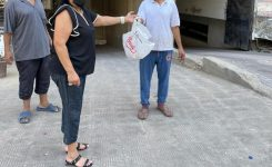 IWC of Giza Distributing Meat Packages on the occasion of Eid EL Adha