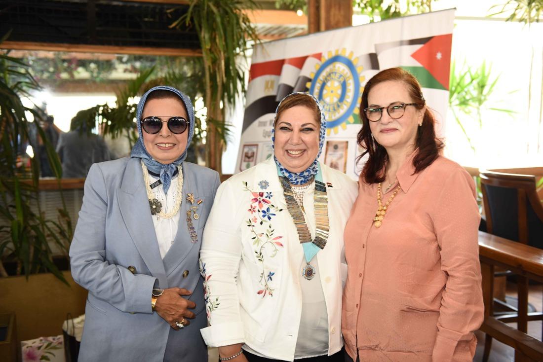 20 -Mona Aref D.Chairman,Iman Tarshouby D.Editor& Hoda Fathi President of IWC of Menia