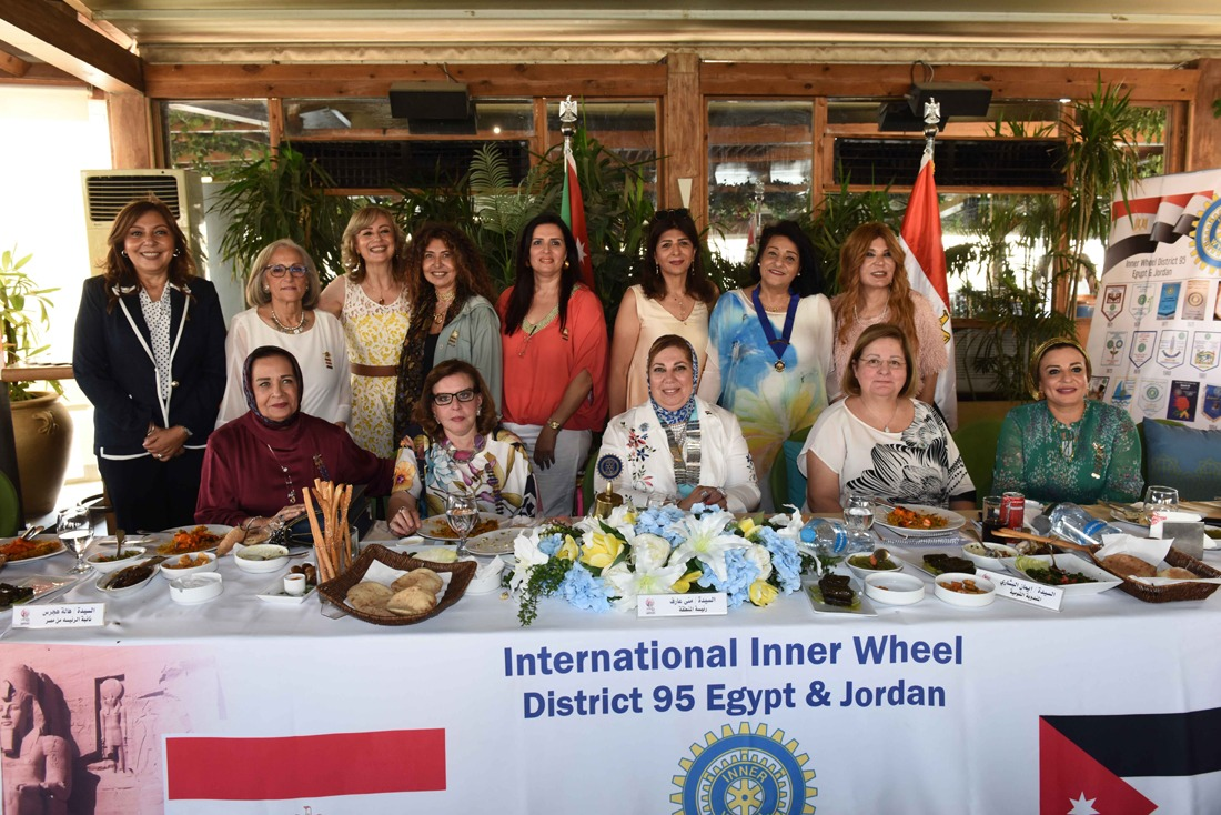 5-District committee & members of IWC of Lotus Misr