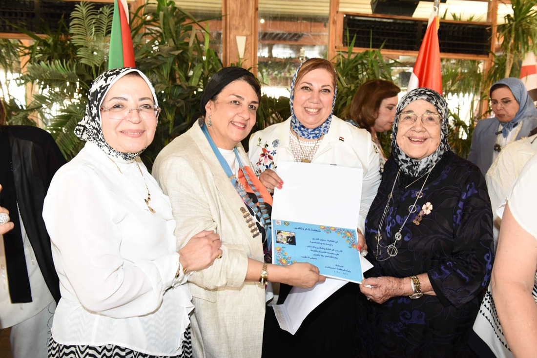 6- Certificate of Appreciation To President of IWC of El Mansoura