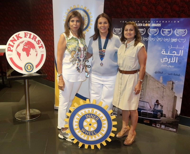 4- President of IWC of Petra & members of the club